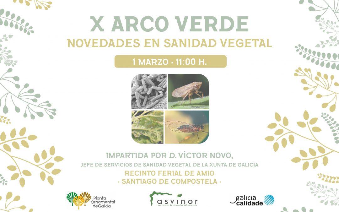 1 de marzo, 11.00 horas-Charla Técnica Novedades en Sanidad Vegetal