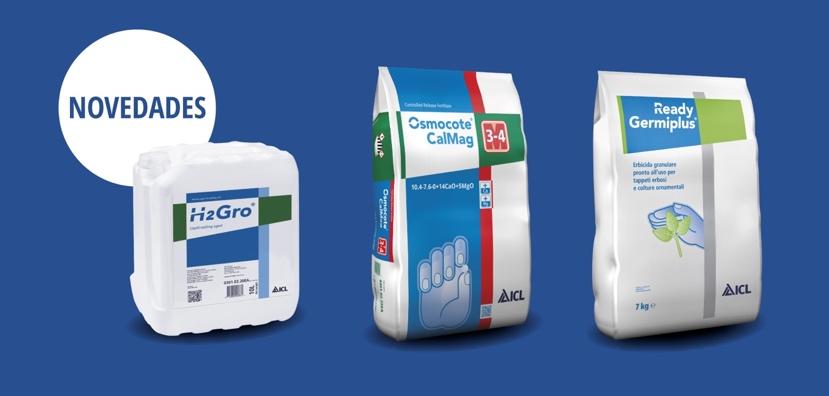 ICL Specialty Fertilizers presenta en Viveralia novedades como Ready Germiplus y H2Gro