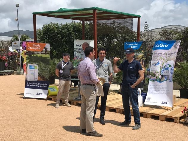 ICL Specialty Fertilizers promociona su agente humectante H2Gro y presenta la nueva campaña para Osmocote Exact, en Viridalia