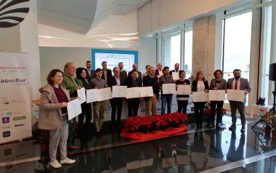 ASVINOR participó en la entrega de galardones de Villas en Flor Galicia